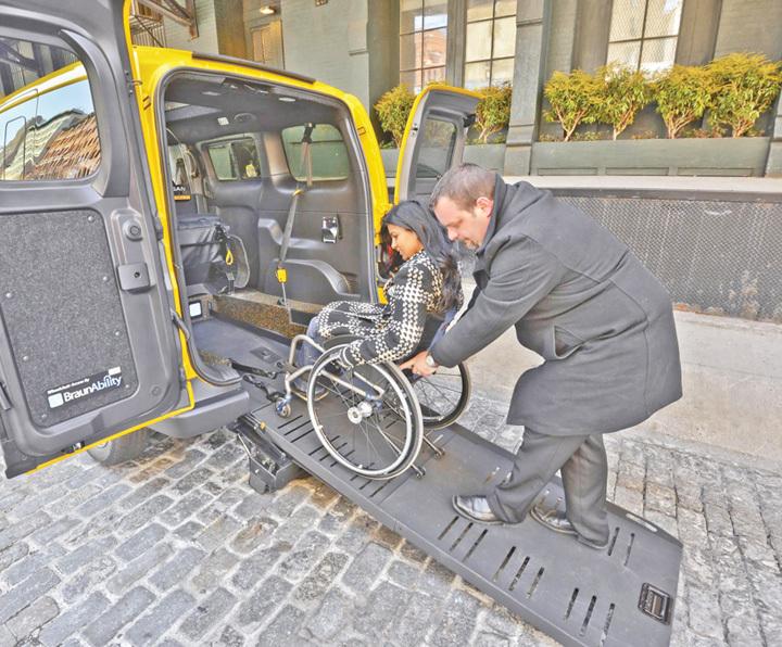 ABILITAXI – Servicii de transport gratuit pentru persoanele cu dizabilități