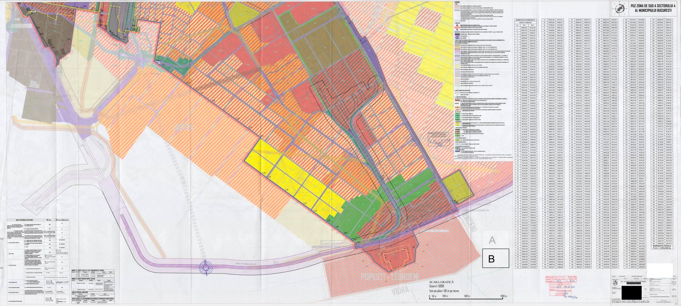 Noul PUZ al zonei de sud a sectorului 4 al Capitalei- schimbă radical fața unor zone