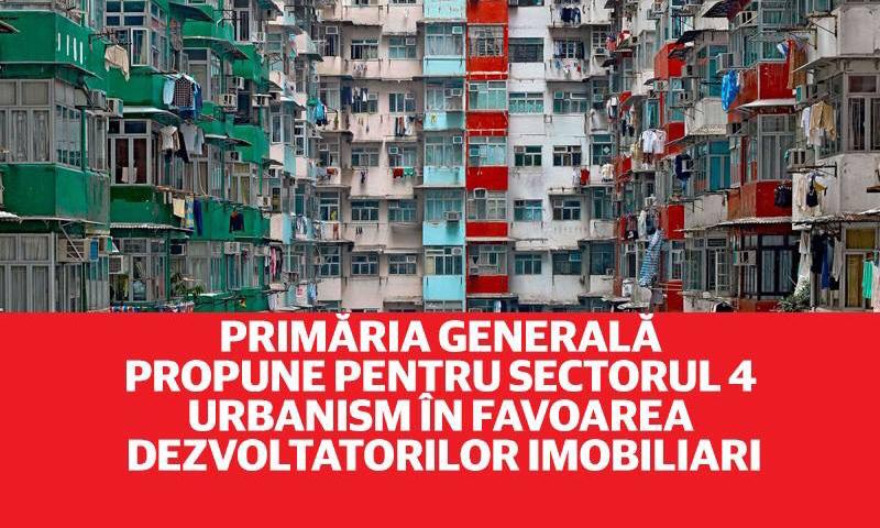Planul Urbanistic Zonal pentru Zona de Sud a Sectorului 4