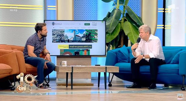 Dan Tudorache aruncă cu promisiuni la televizor
