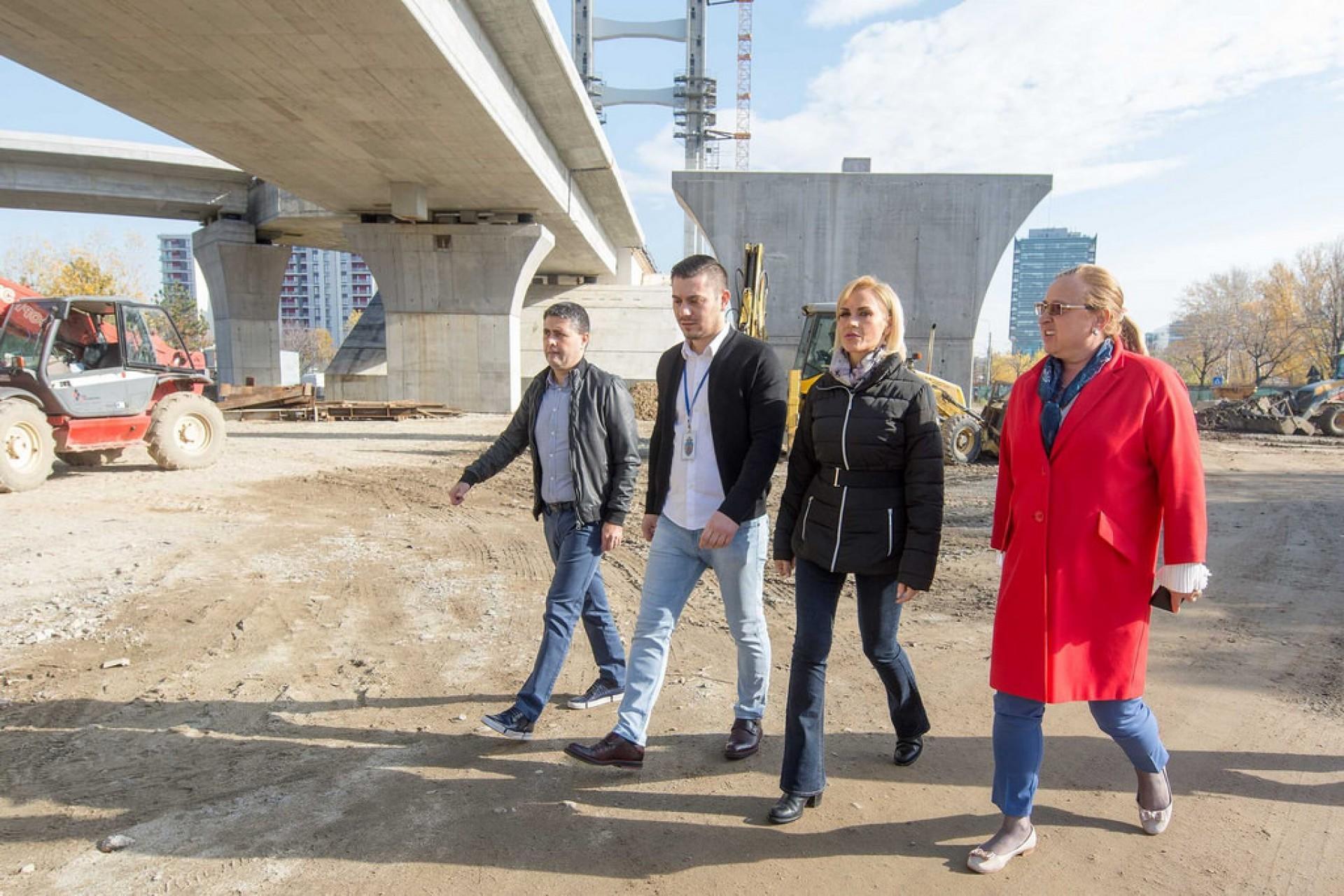 Proiectele de infrastructură din București, în grafic pe hârtie - întârziate pe teren