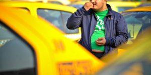 Proiect Regulament taxi cămașă pentru șofer, taxi curat și cu aer condiționat