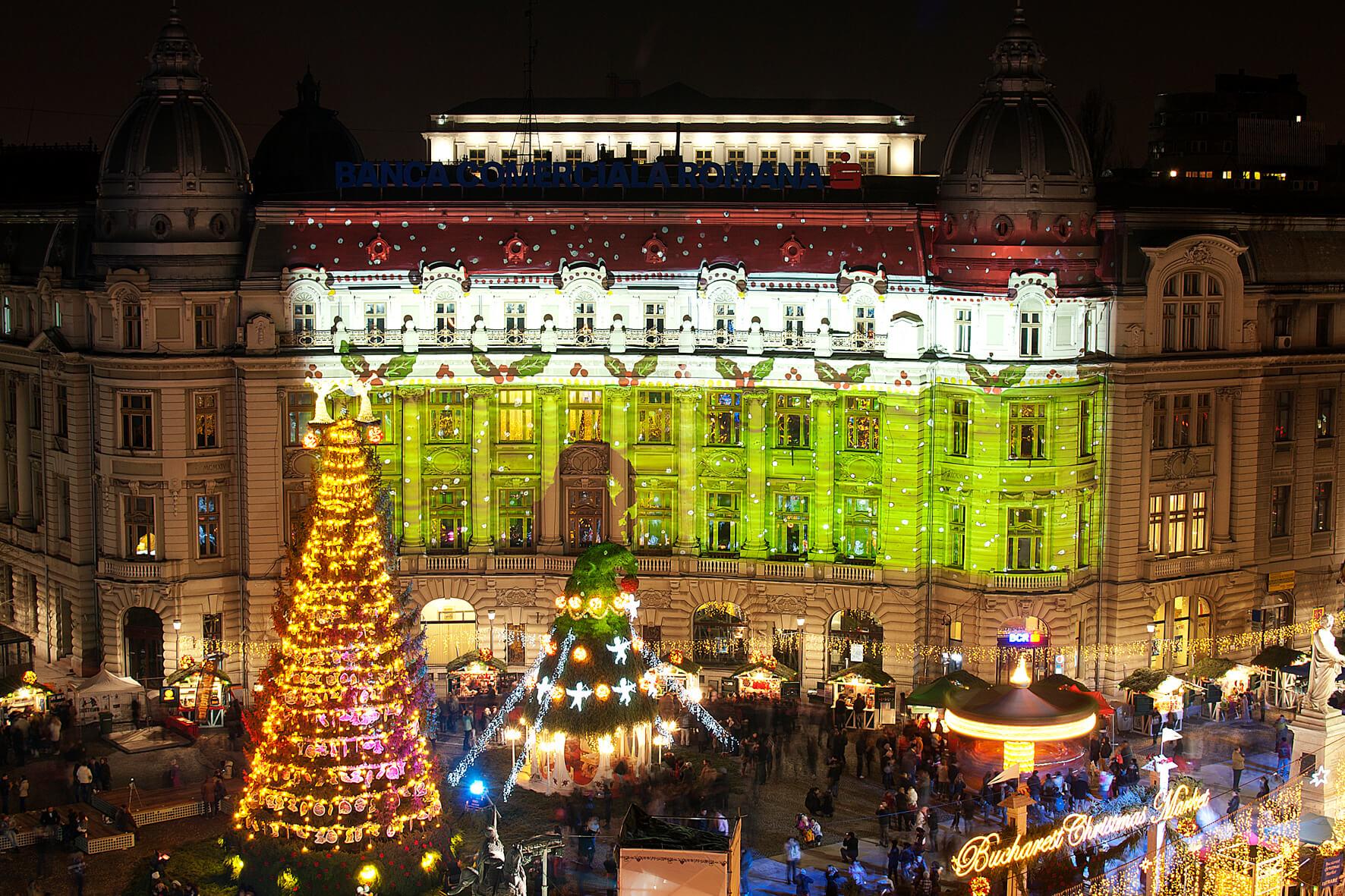 Se deschide Târgul de Crăciun al Capitalei 129 de căsuțe cu produse de sezon, patinoar, carusel pentru copii