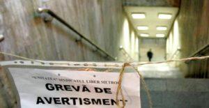 Tribunalul Bucureşti a dispus, marţi, încetarea grevei de la metrou declanşată de Unitatea - Sindicatul Liber Metrou (USLM).
