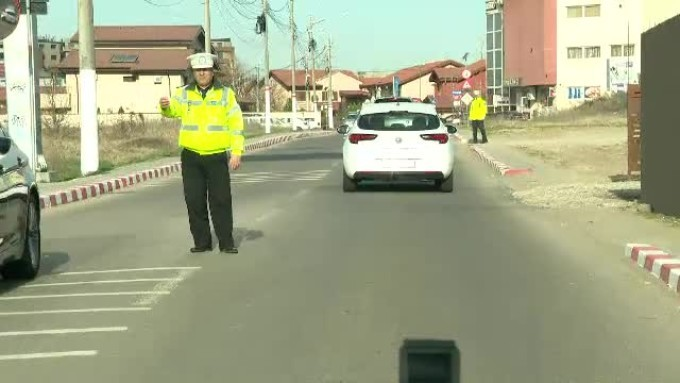 Politisti trafic