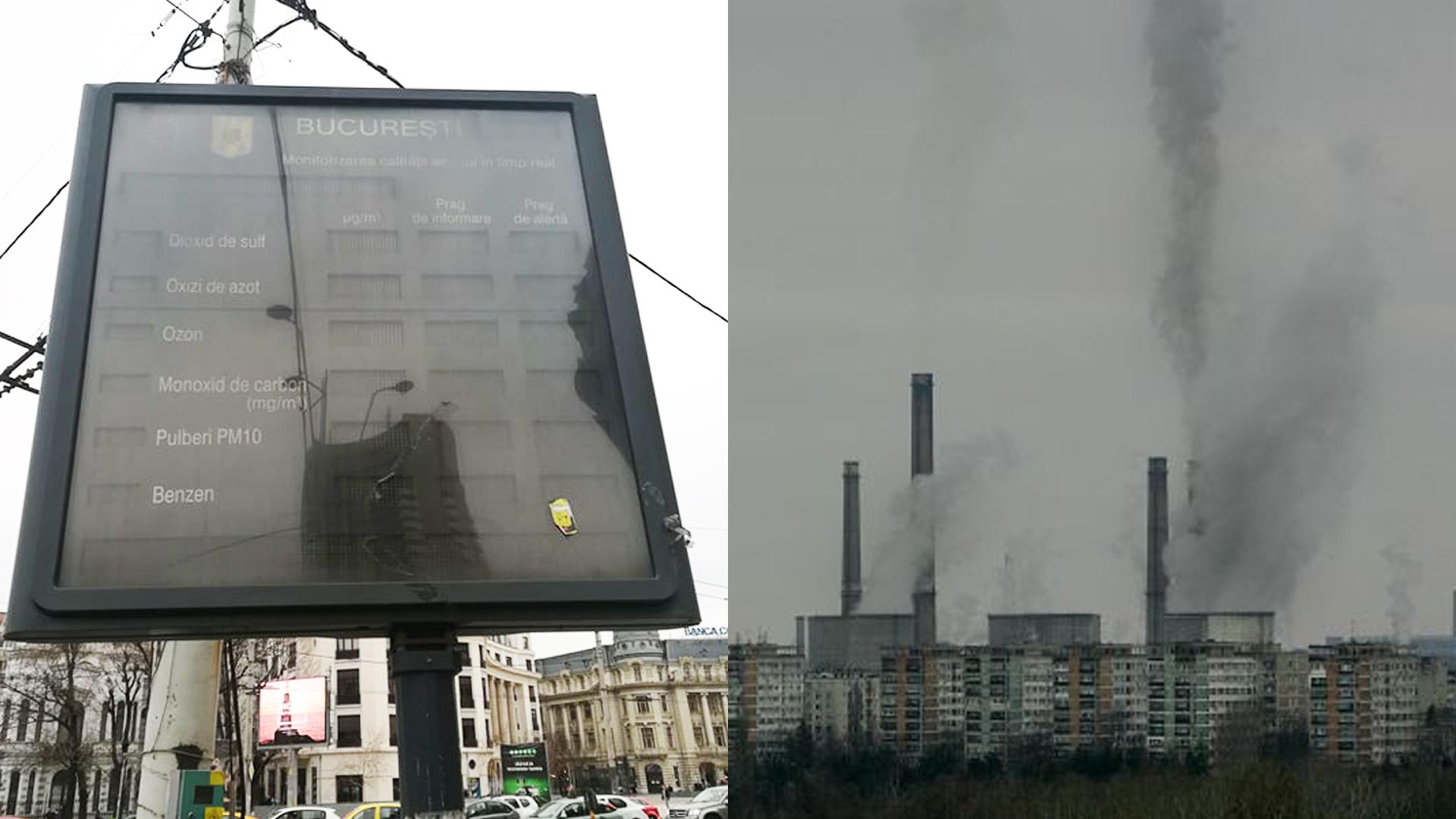 Poluare in Bucuresti
