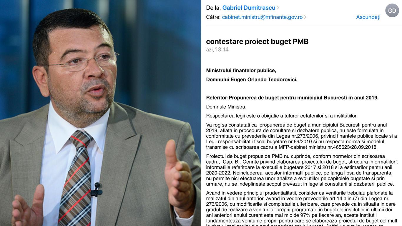 București un proiect de buget ilegal și netransparent