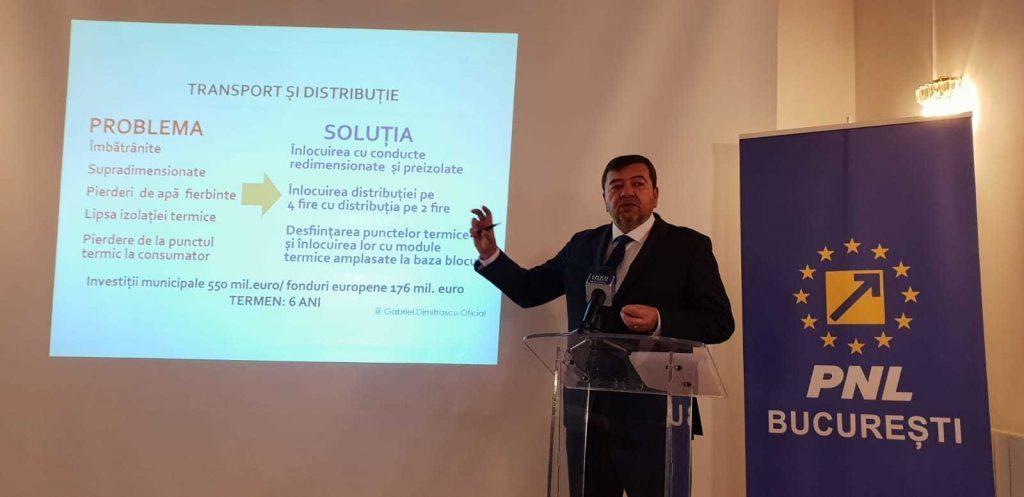 Gabriel Dumitrașcu Bucureștenii riscă să rămână fără apă caldă și căldură