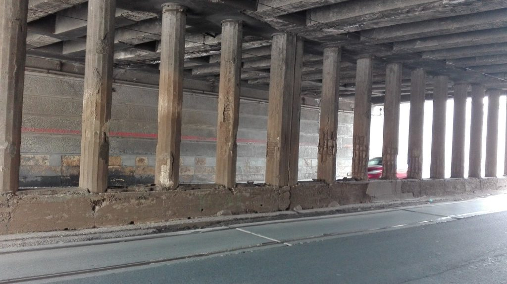Gabriela Firea s-a angajat că va repara podul Constanța