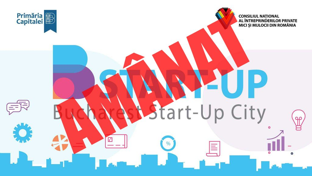 Afiş Bucharest Start-up City