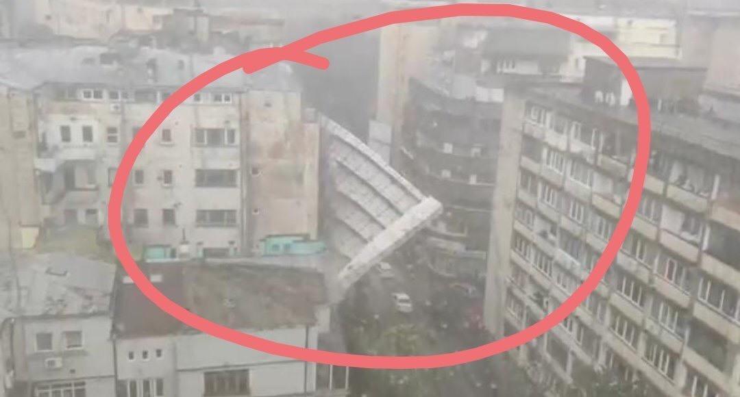 Pericol! Schelele puse de Compania de Consolidari a Primariei Capitalei au căzut pe marile bulevarde!