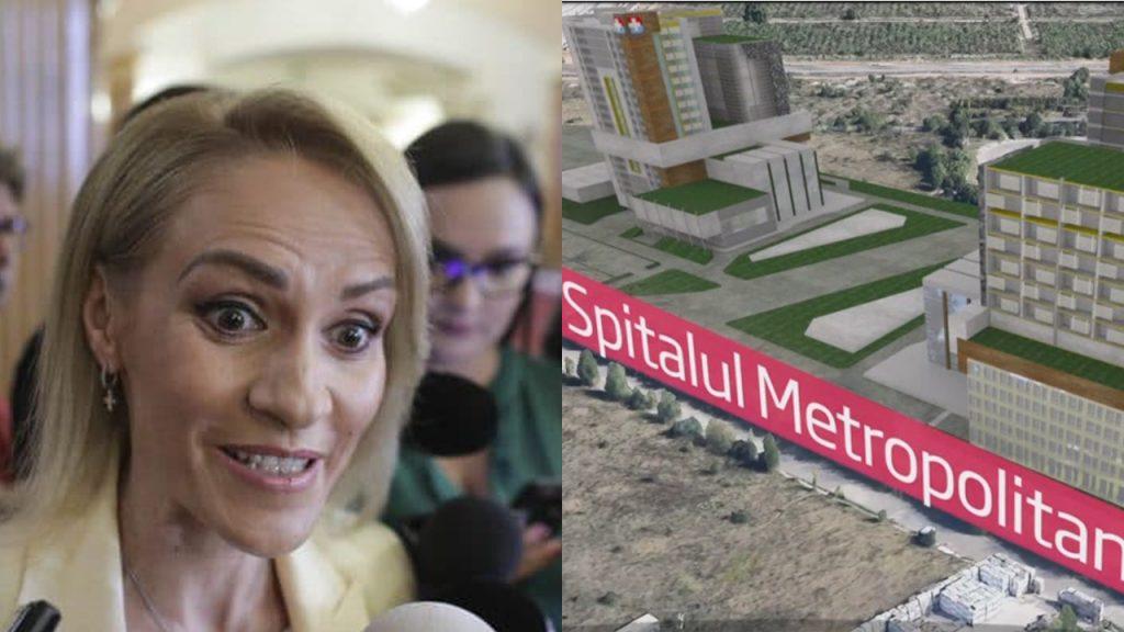 Spitalul Metropolitan, promis de Gabriela Firea, nu e gata nici pe hârtie